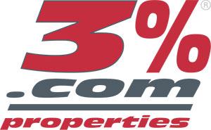 3 percent logo